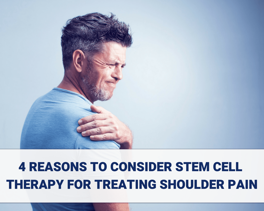 4 Reasons to Consider Stem Cell Therapy for Treating Shoulder Pain (1)
